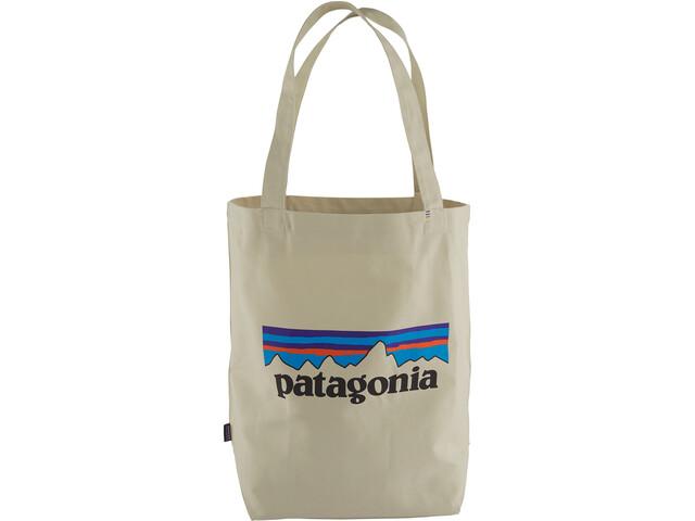 Patagonia Market Bolsa Tote, P-6 logo/bleached stone